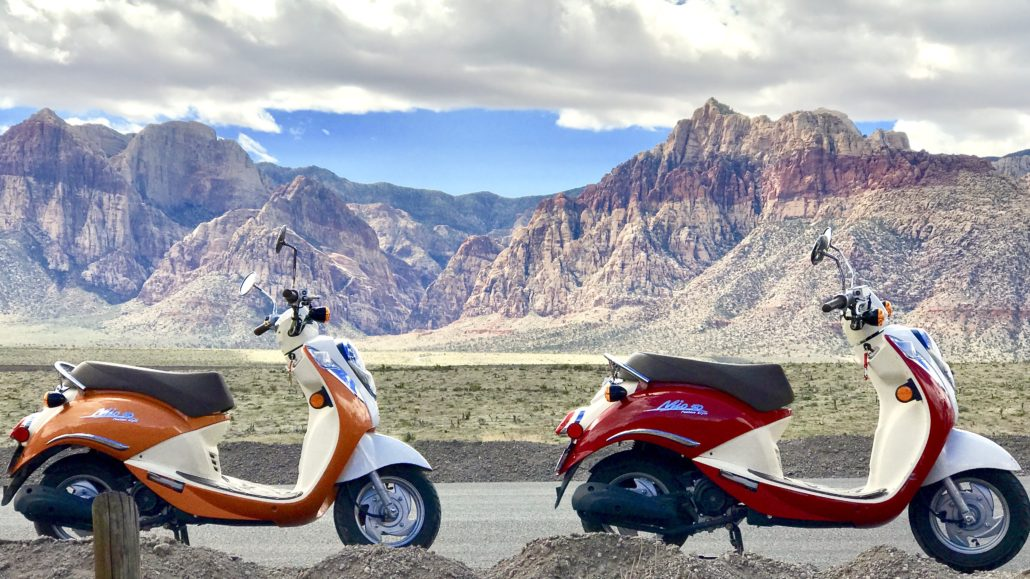 Red Rock Canyon Scooter Tour Information - Red Rock Scooter