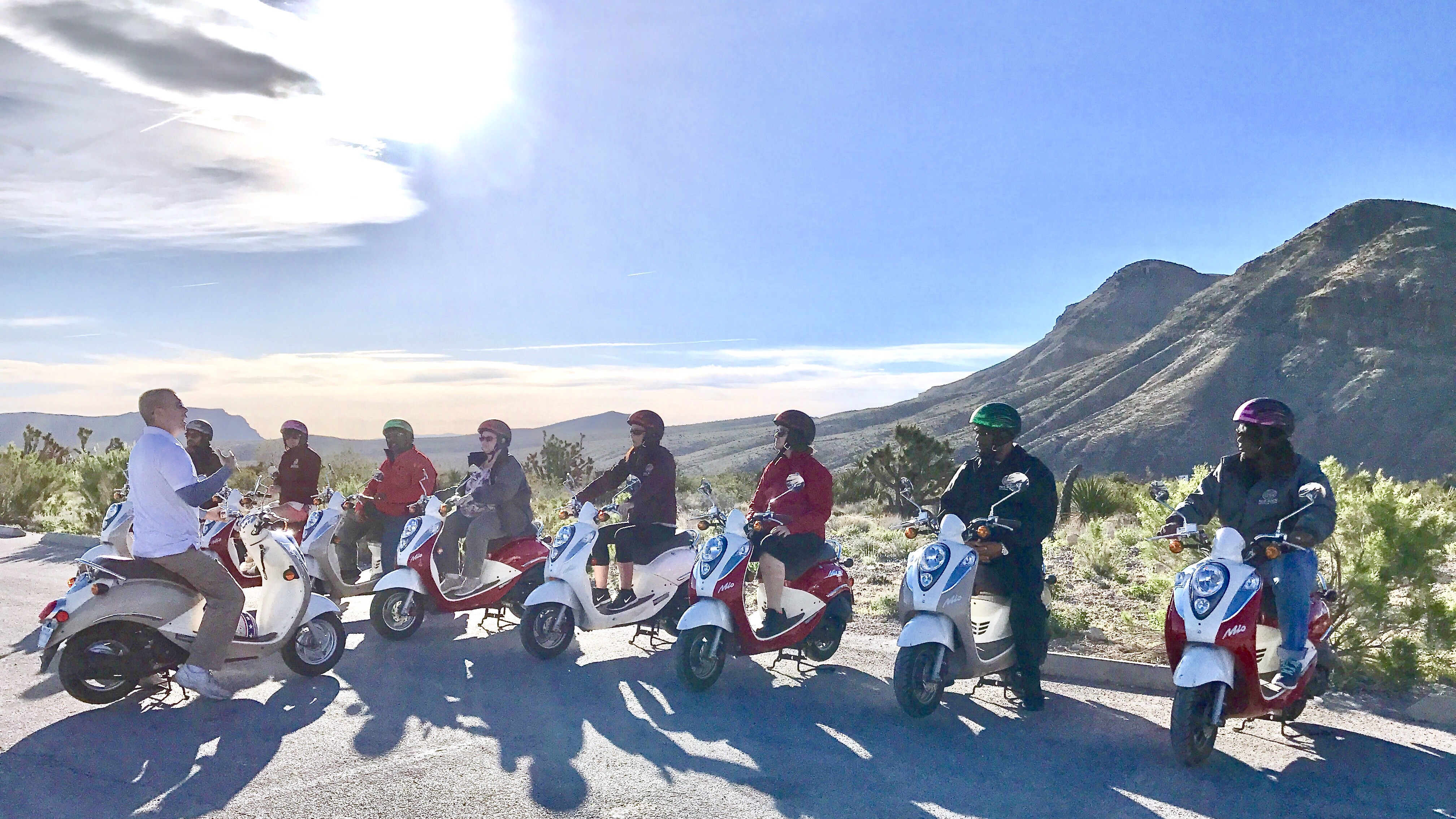 Tour Details, FAQ's, and Restrictions - Red Rock Scooter Tours